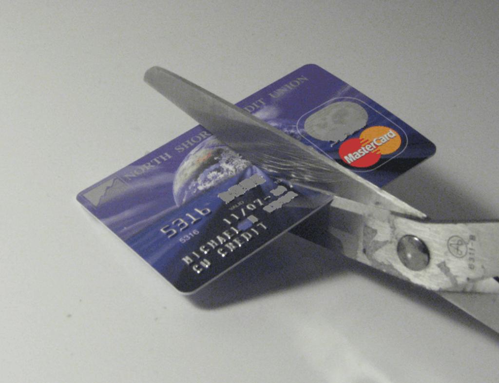 credit card debt is bad!