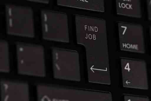 Find Job button on keyboard by Niek Verlaan on Pixabay