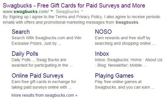 swagbucks google search