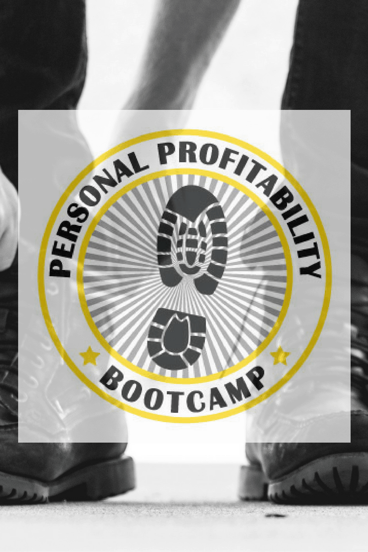 Join the free, week long Personal Profitability Bootcamp to get your finances in shape. It's time make your money a priority!