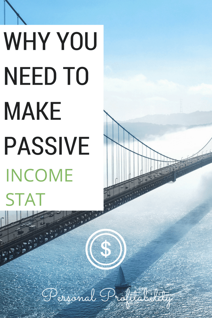 Passive income is an important aspect of our money. In addition to your day job, it is important to build diverse, passive income streams. Learn how and why today!