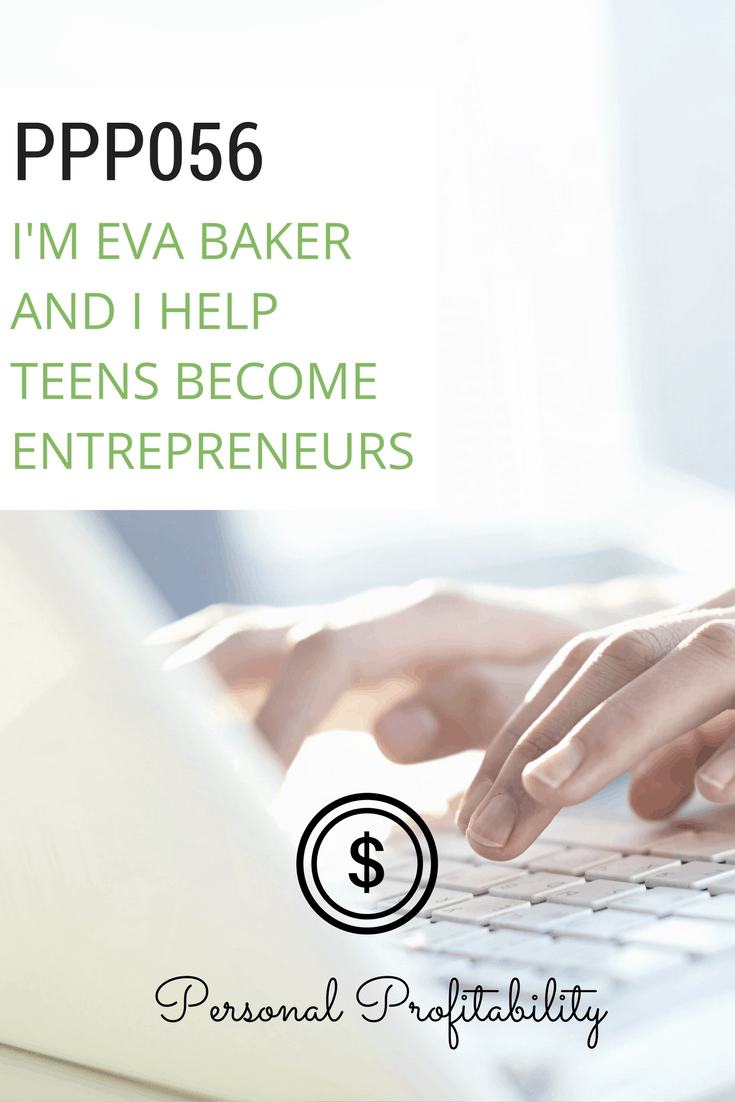 When she started a personal finance site in high school, Eva didn't know she was starting a potential career path. She now runs the annual Teenpreneur conference and focuses on empowering teens around the world to start businesses and make their own way!