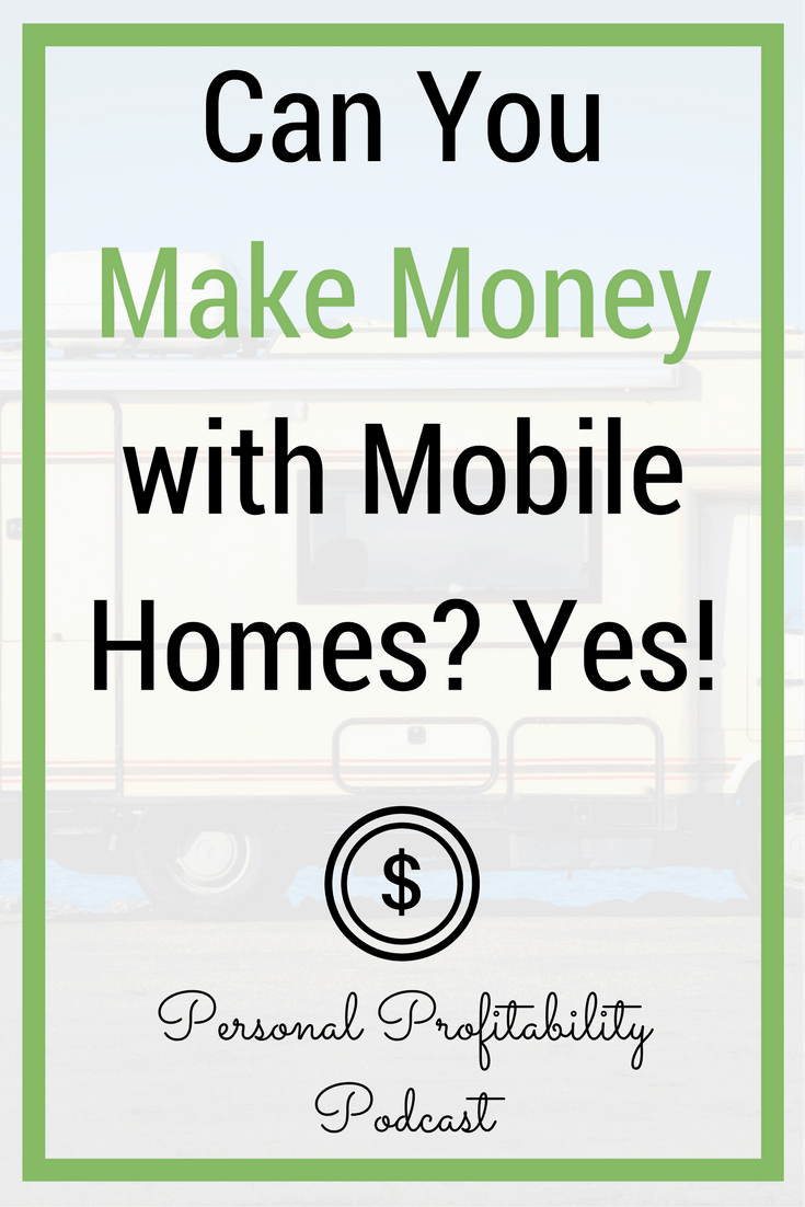 When you think of mobile homes, the first word that comes to mind is probably not profit, but that's exactly how Jefferson Lilly looks at the world of trailer parks and mobile homes. How you can invest in mobile homes and make a profit. #makemoney #investing #realestate #makemoremoney