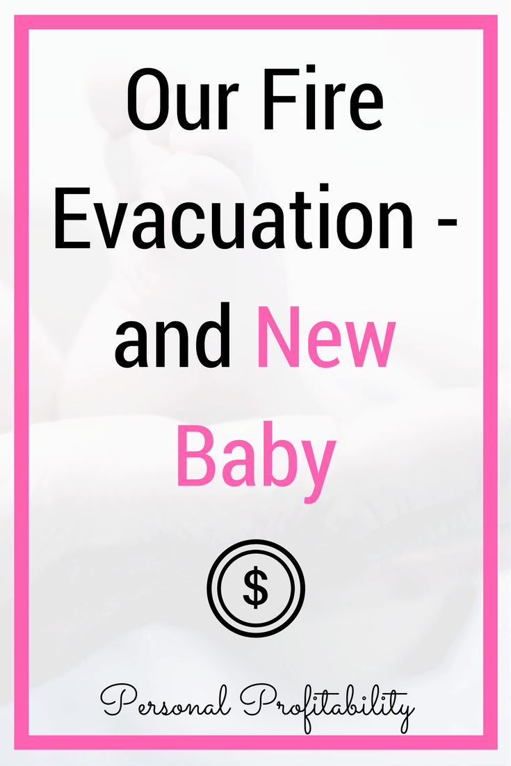 It's been a crazy two weeks for our family, but I have good news to share! Click through to read our experience with the Thomas Fire and our new fire baby -
