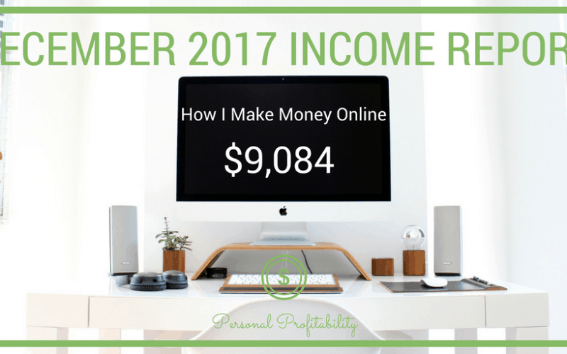 December 2017 Income Report and Annual Review
