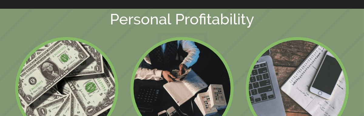 Personal Profitability Income Report February 2018