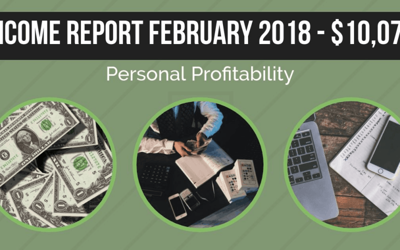 Personal Profitability Income Report February 2018