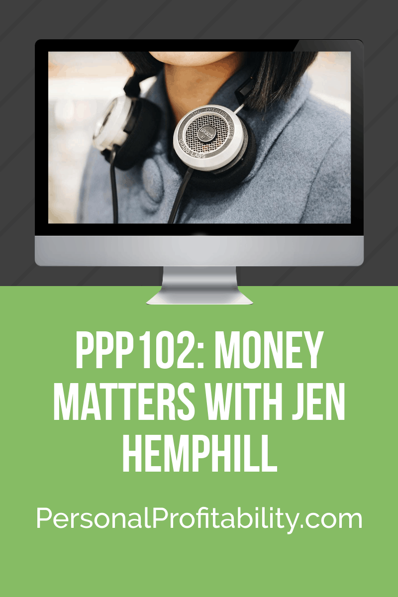Ready to get your finances in line with your dreams? It's not fantasy - it's money matters! We talk #moneymatters and more with Jen Hemphill in this episode -