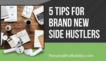 In this week's podcast, we're talking about starting a side hustle with Martin Dasko. If you're new to side hustling, don't miss our top 5 side hustle tips!