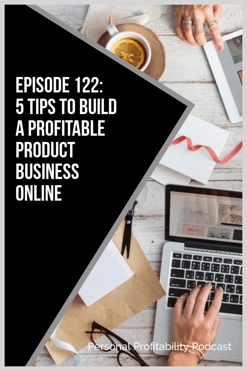 Tune in this week to discover Sandy Smith's top tips for starting an online product business. Find out how to choose a product, where to sell it, and more! #onlinebusiness #personalprofitability
