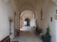 Cloisters with artisan workshops