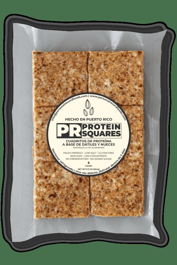 PR Protein Squares - Almond