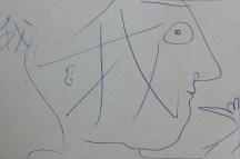 Moich Abrahams, Self-portrait - LG