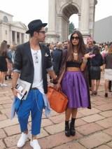 Milano Fashion Week, street style,неделя моды в Милане, стиль с улиц Милана