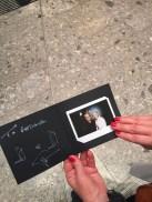 автограф от Джузеппе Занотти
