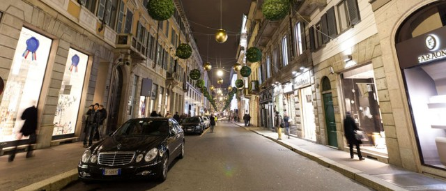 shopping in italy montenapoleone