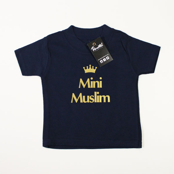 a26cb2d3a Mini Muslim Islamic Baby & Toddler T-shirt - Personal Sketch