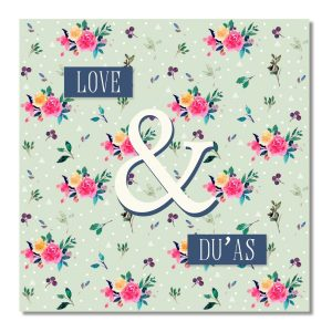 Islamic Love and Dua Islamic greeting card