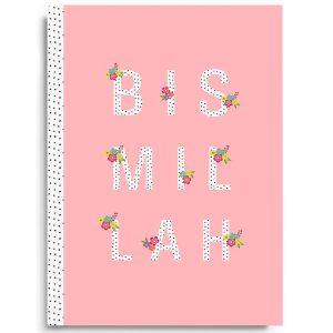 Bismillah Notebook Blush