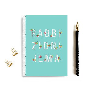 Rabbi Zidni 'Ilma Notebook Aqua