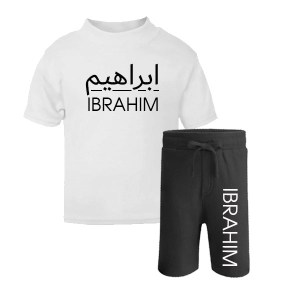 T-shirt and shorts set 7