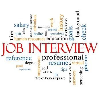 advice for job interviews