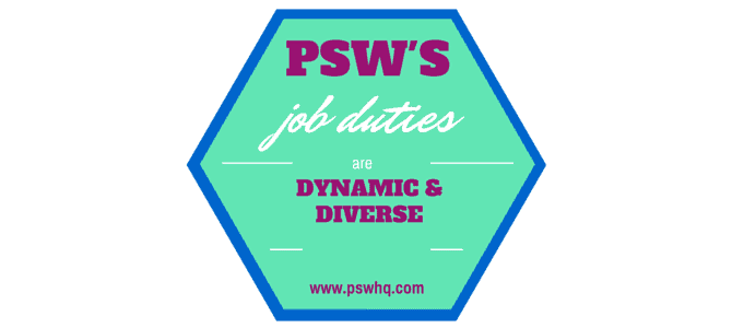 PSW job description