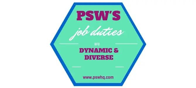 PSW job description