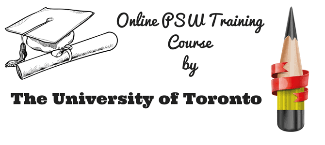 Online PSW Training Course by The University of Toronto