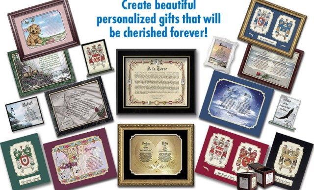 personalized gifts business