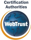 WebTrust Certified Site