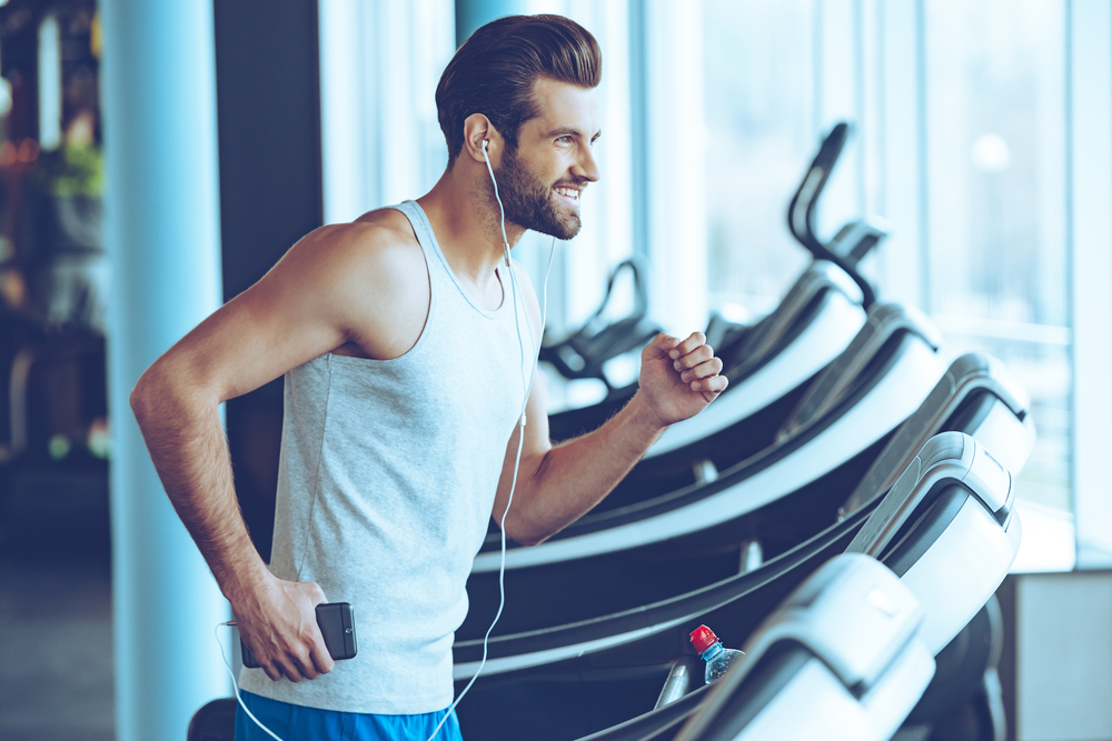 With a tap or two and a wi-fi connection, you can hear some fresh music while on your treadmill.