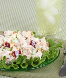 Personal Trainer Food light and refreshing apple salad to lose weight over the holidays