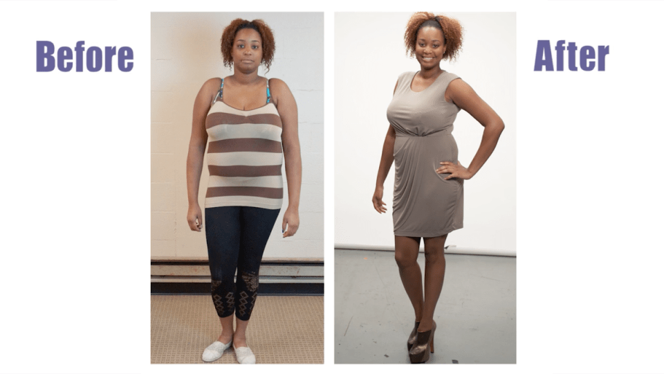 Chantal lost weight for good!