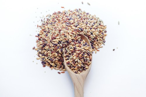 A spoonful of ancient grains.