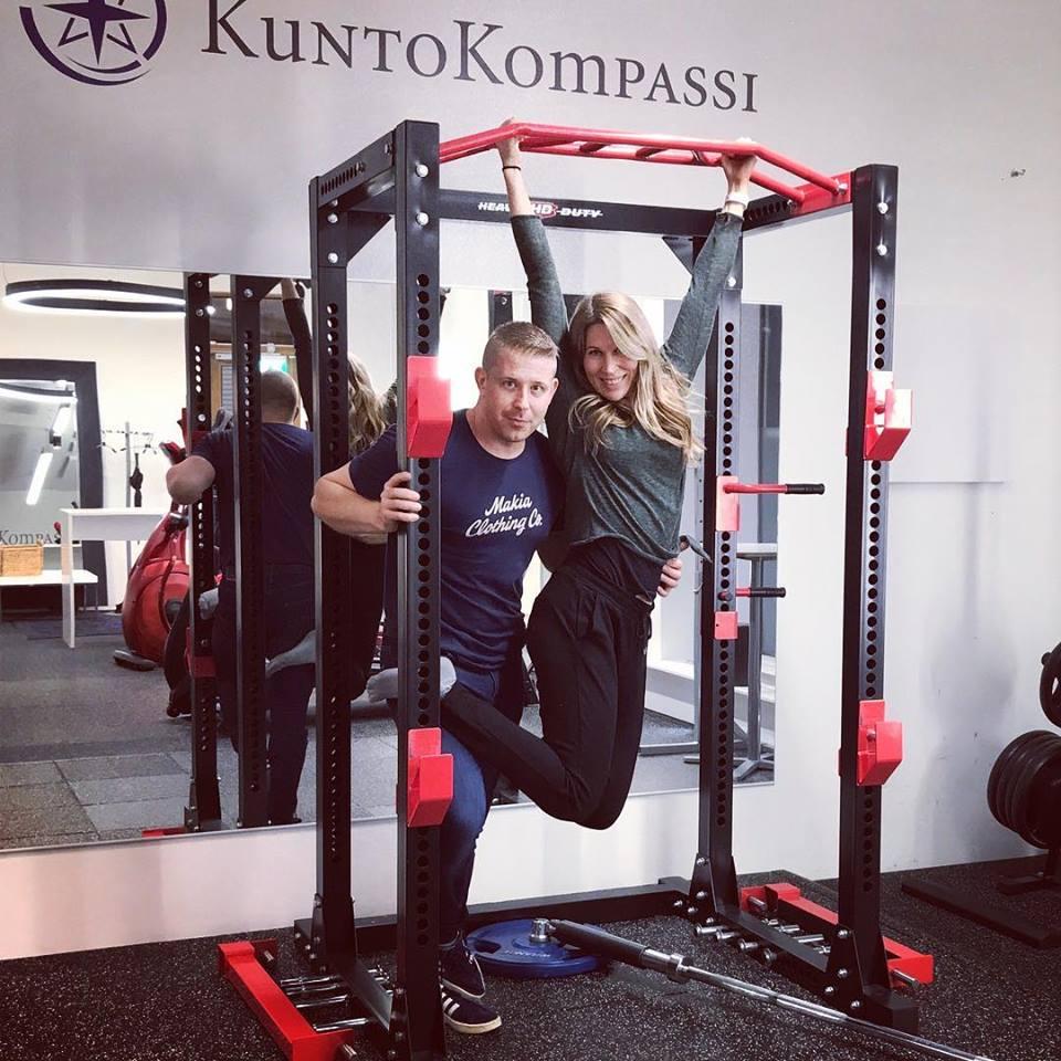 personal trainermarko ja jenni eskelin kuntokompassi