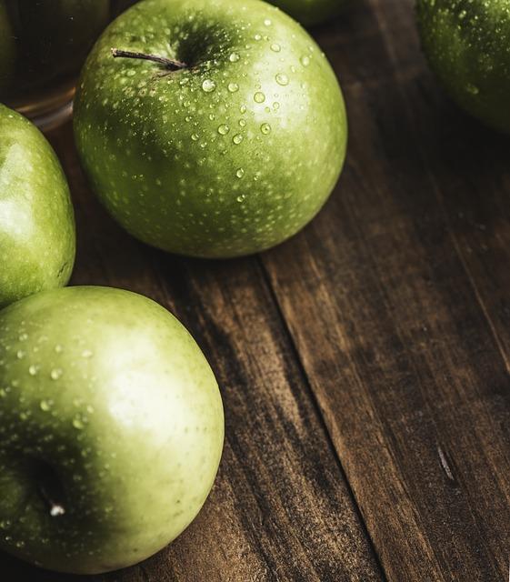 Smoothie met appel en courgette