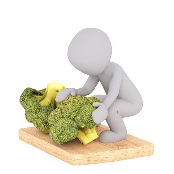 Broccoli met zalm en papillote