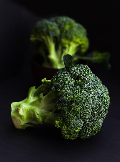 Broccoli-pompoen soep met gehakt