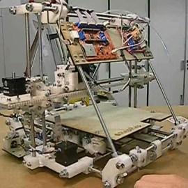 Impresión 3D o las máquinas autoreplicantes