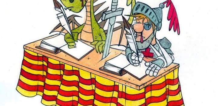 Feliz día del libro, feliç Sant Jordi