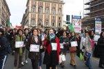 Roma, In Marcia per difendere la Costituzione