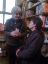 Milano, la presidente di Donne di carta e il libraio Guido
