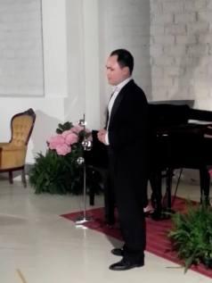 Ripresa del canto, baritono