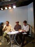 Nova Delphi con l'autore, Comincini, di Sacco e Vanzetti