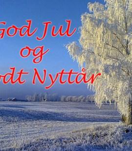 God Jul og Godt Nyttår