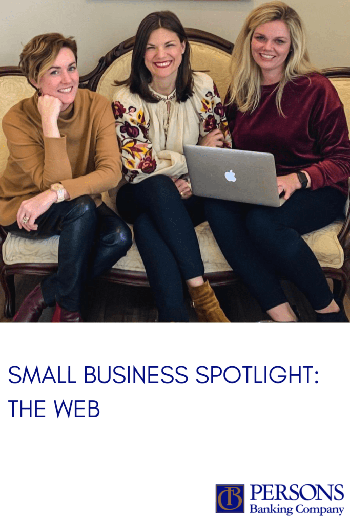 Persons Banking Company Small Business Spotlight: The Web