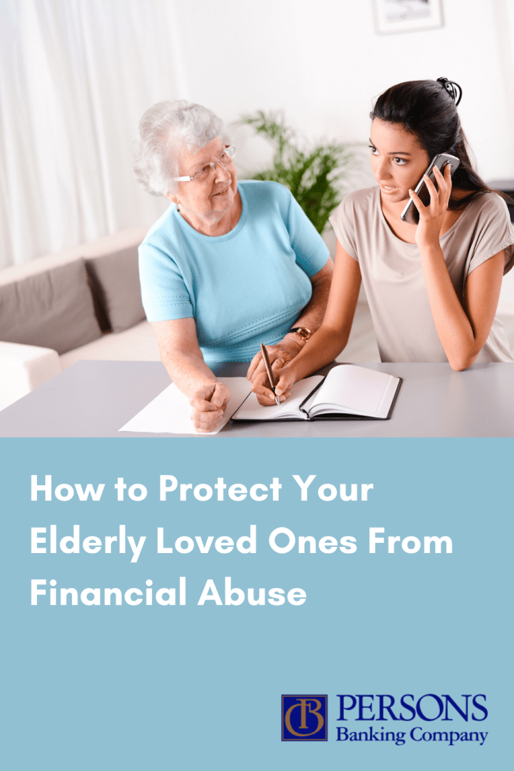 how to protect your loved ones from elder financial abuse