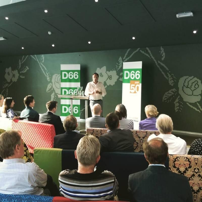 In 's-Hertogenbosch in gesprek met @apechtold van @d66nuvooruit