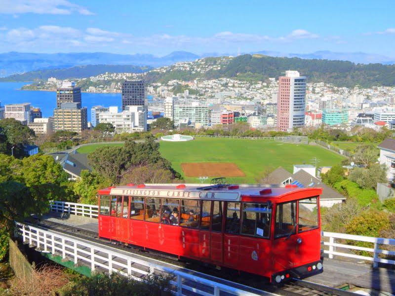 Il cable car di Wellington
